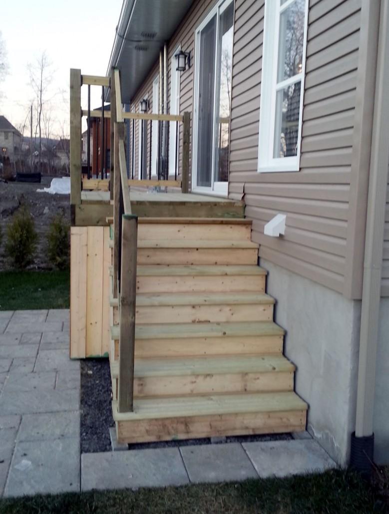 Bell r no balcons et patios - Balcon en bois ...